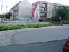 1) (od ul.Mikulášské) Přejezd Jesenické ul.dál kolem Polikliniky, Švédské zdi k Prioru -  směr náměstí