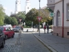 3) Kolem lékárny Na Poliklinice - směr náměstí