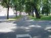 14) Dvořákův okruh od skladu Astur (bývalý pivovar ) k ulici Svatého Ducha ( a konci cyklostezky )